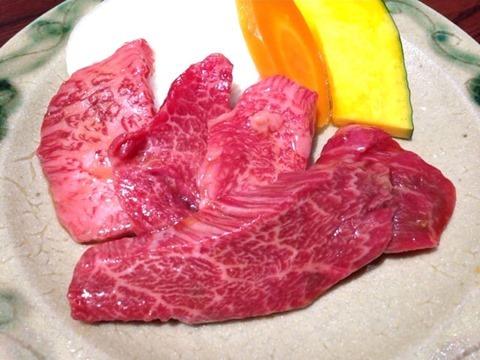 肉の館羅生門和牛ロース定食、和牛カルビ定食、和牛焼肉定食