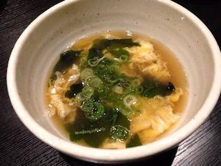 播州海鮮炉端碇いかり屋スープ