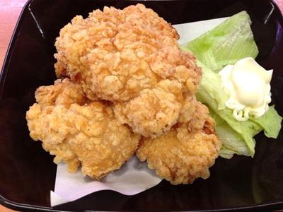 スシロー桜姫鶏の唐揚げ(クリスピー)