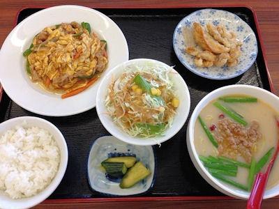 台湾料理龍祥日替わりランチ