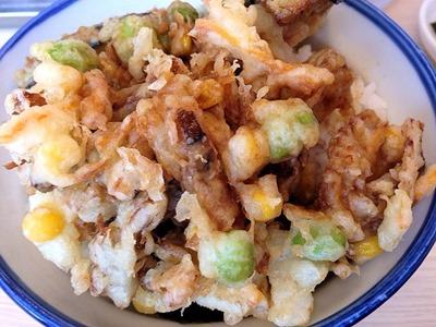 天丼・天ぷら本舗 さん天焼穴子のかき揚げ天丼