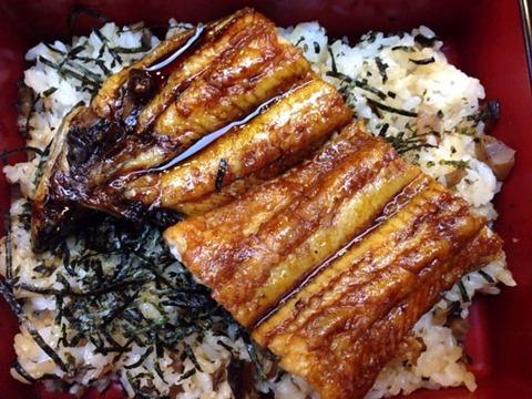 日本料理しげ真国産うなぎ炭火焼うな重ハーフ