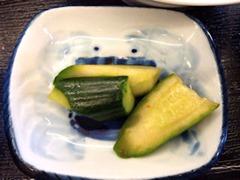 台湾料理龍祥日替わりランチ漬物
