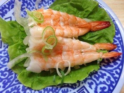 くら寿司シャリ野菜えび