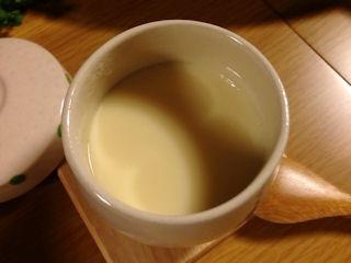 茶そば・穴子そらまめ茶碗蒸し