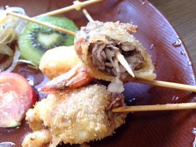 ぷちとまと串カツ定食