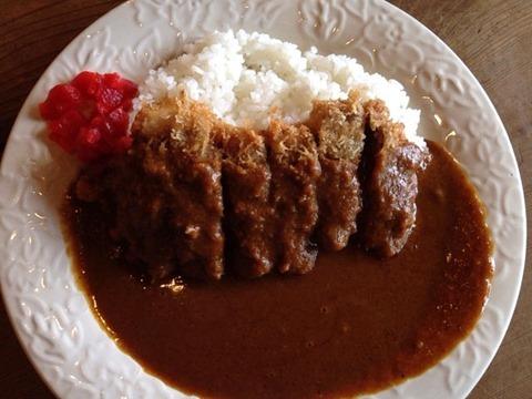 めし炊き名人ぱっぱ屋ビーフカツカレー