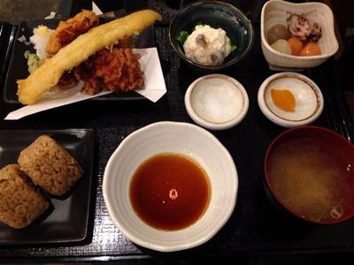 牡蠣・タコ・居酒屋明石明石天ミックス定食