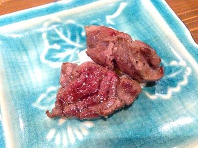典の絶品猪の腕肉