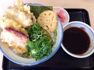 天丼・天ぷら本舗さん天ネギチャーシュー天丼