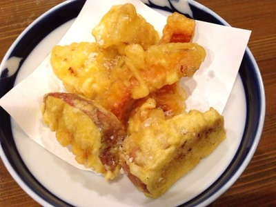 和創作典淡路産特選野菜天ぷら三種盛り