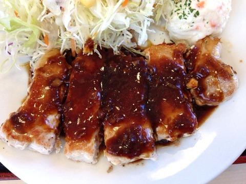 松屋厚切り豚テキ定食