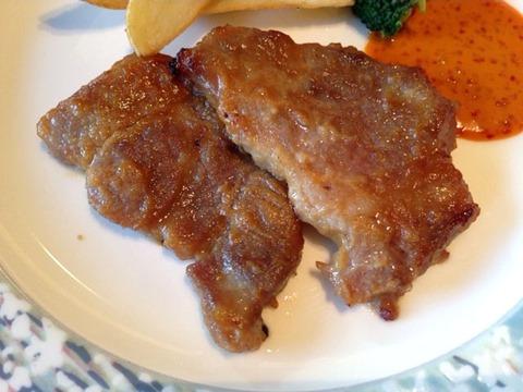 リヴィエール国産ポークの味噌漬焼き