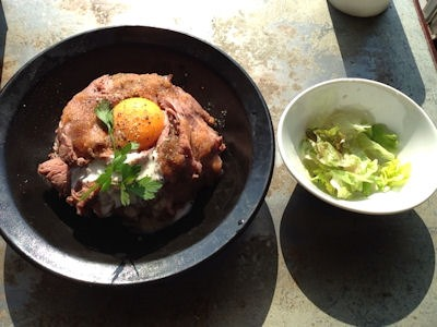 igu&peace VERANDA ローストビーフ丼