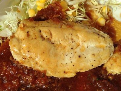 松屋鶏ささみステーキ定食