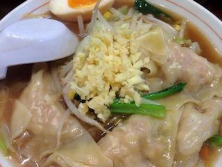 姫路タンメン野菜雲呑麺