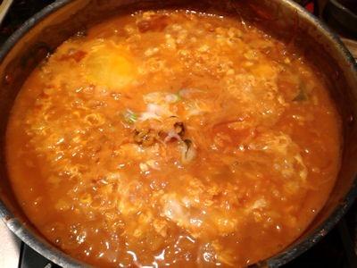 天ぷらと肉寿司燈花黒毛和牛の雲丹しゃぶ鍋
