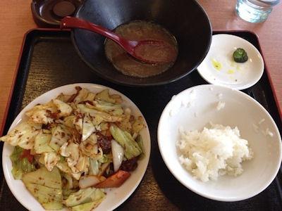 錦福香牛ミソ焼肉定食