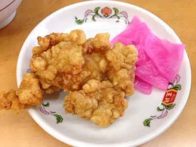 餃子の王将伝統の餃子定食ミディアム