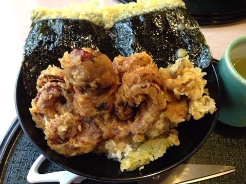 和食レストラン江井ヶ島びっくりたこ丼定食
