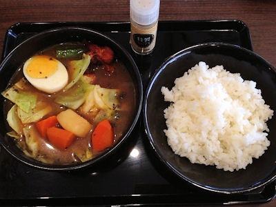 CoCo壱番屋ローストチキンスープカレー