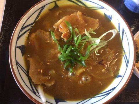 丸亀製麺鴨肉たっぷりカレー南蛮