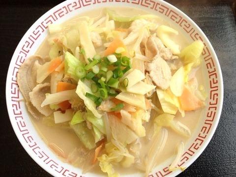 ごはんや平荘の里ちゃんぽん麺