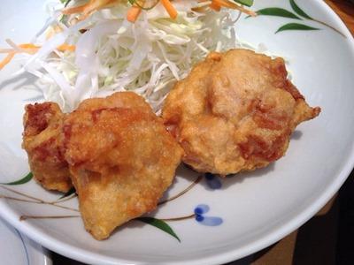 やよい軒豚肉と白菜のあんかけ鍋定食