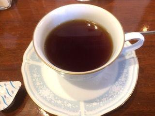 モッキンバードおすすめランチ食後のコーヒー
