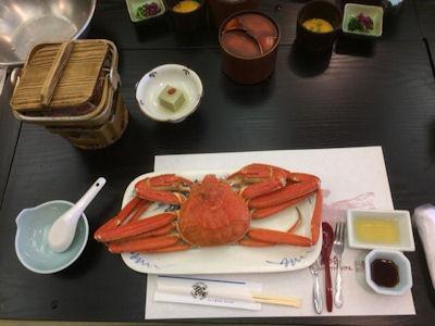 奥城崎シーサイドホテル●豪華蟹会席プラン