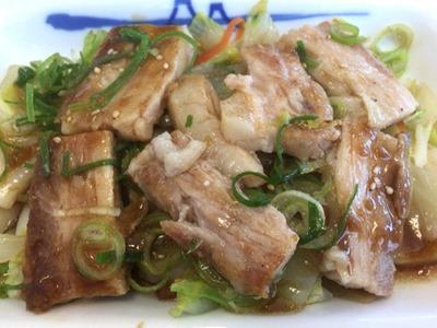 松屋ふわとろ豚と温野菜定食