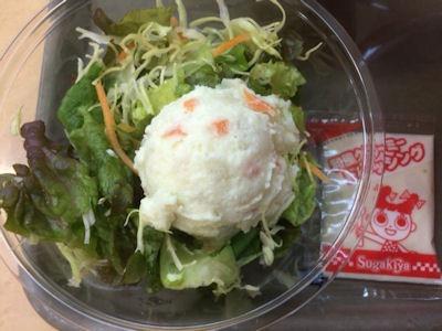 スガキヤ特製ラーメン サラダセット