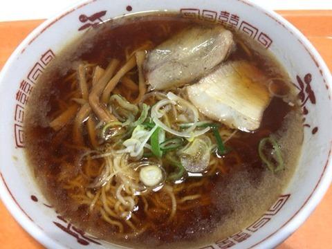 釧路ラーメン河むら醤油ラーメン