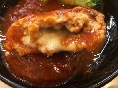 くら寿司イタリアンチーズハンバーグ