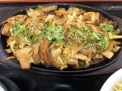 本家かつめし亭肉野菜いため定食