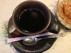 生州割烹輝髙皐月食後のコーヒー