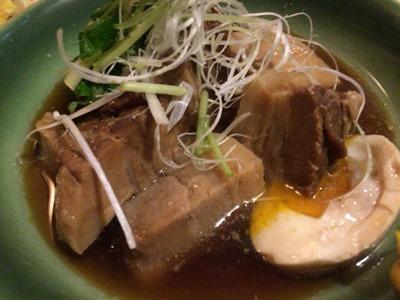 酒家山葵豚バラ肉の角煮