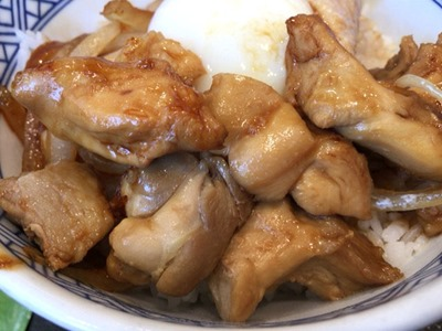 吉野家鶏すき丼
