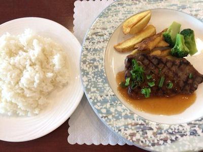 リヴィエール牛ロースの味噌漬ステーキ