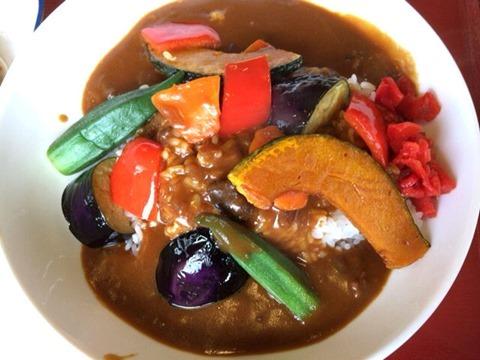 加古川北在家食堂夏野菜たっぷりカレー