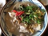 丸亀製麺とんこつうどん
