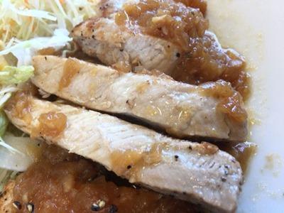 松屋厚切りポークソテー定食