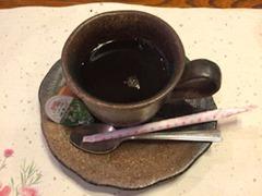 生州割烹輝髙2018葉月食後のコーヒー