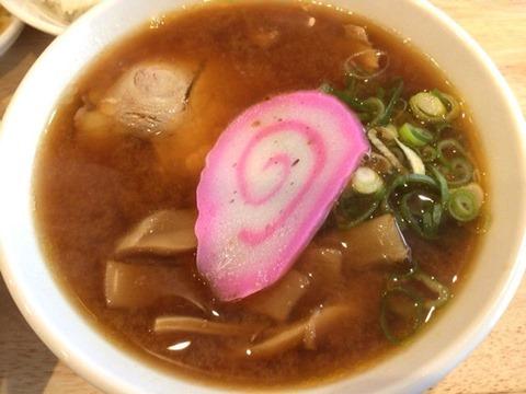 肉そば 麺達日替わり定食ミニ味噌ラーメン