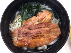 回転寿司海鮮三崎港夏の旬祭り肉うどん豚カルビ入り!