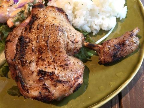 CICCIO国産鶏のステーキランチ