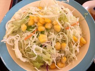 松屋鶏のバター醤油炒め定食6