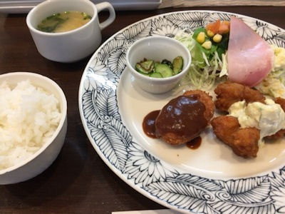 cafePit本日のサービスランチ