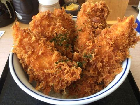 かつや鶏ささみタレカツ丼松