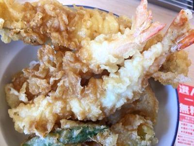 天丼・天ぷら本舗さん天真穴子と海老の天丼